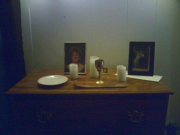 First ancestral altar