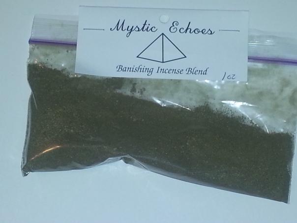 Banishing Incense blend