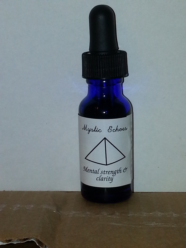 Mental strength and clarity tincture