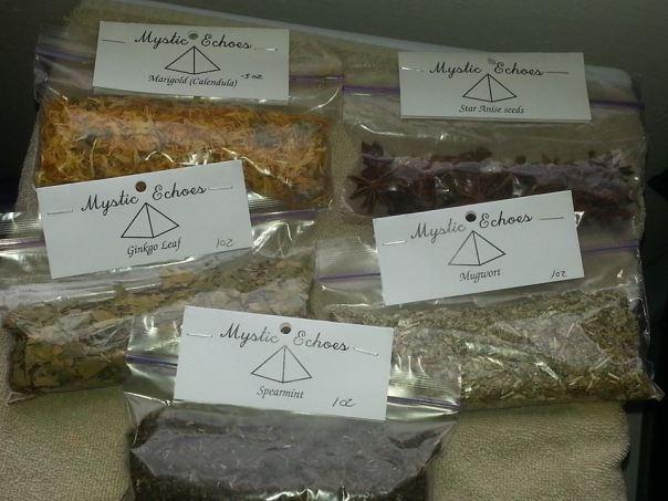 Psychic herb kit