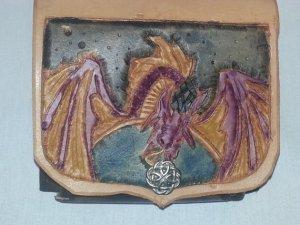 Dragon Mirror Pouch