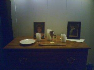 Ancestor altar alpha