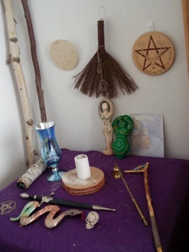 Feri Tradition altar 2-1
