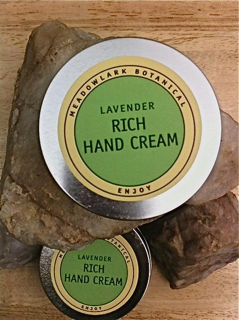 Meadowlark lavender hand cream